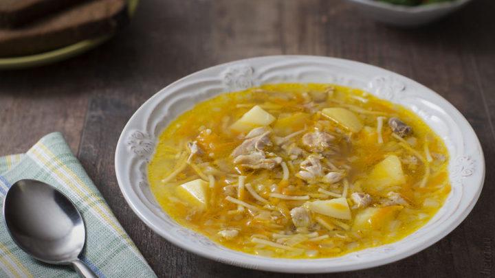 Рецепт куриного супа с вермишелью и картошкой