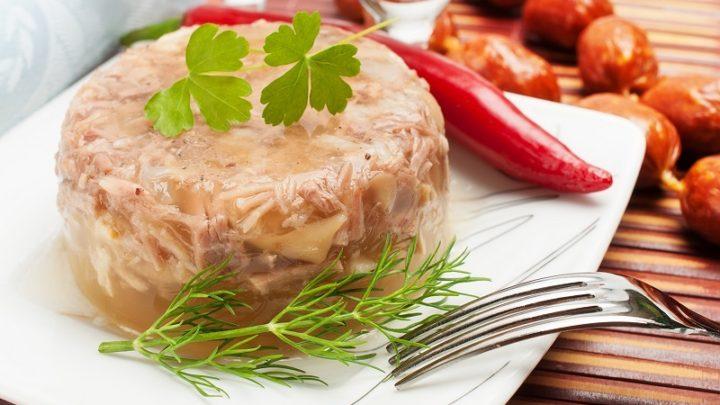 Холодец из куриных ножек рецепт с фото пошагово