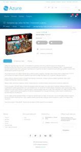 Продающее описание конструктора Lego