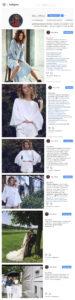 Ведение Instagram бренд Lilas