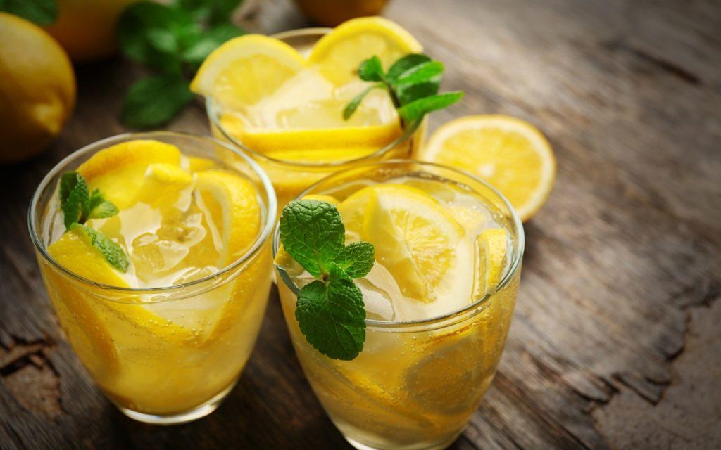 лимон калорийность